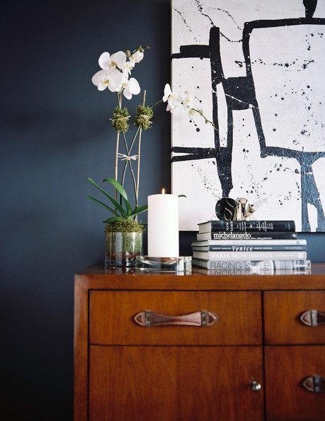 Orchid+wooden+cabinet+topped+books+orchid+GLxEIeyMQEpl